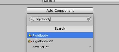 rigidbody2d追加